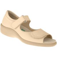 Schuhe Damen Sandalen / Sandaletten Natural Feet Sandalen Tunis Farbe: beige beige