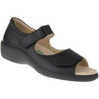 Schuhe Damen Sandalen / Sandaletten Natural Feet Sandalen Tunis Farbe: schwarz schwarz