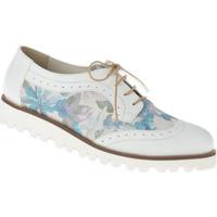 Schuhe Damen Derby-Schuhe Lei By Tessamino Schnürer Luna Farbe: weiß weiß