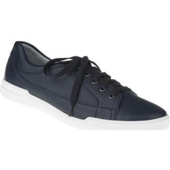 Schuhe Herren Sneaker Low Natural Feet Schnürer Sandro Farbe: blau blau