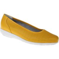 Schuhe Damen Ballerinas Natural Feet Ballerina Annabelle Farbe: gelb gelb