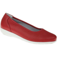 Schuhe Damen Ballerinas Natural Feet Ballerina Annabelle Farbe: rot rot