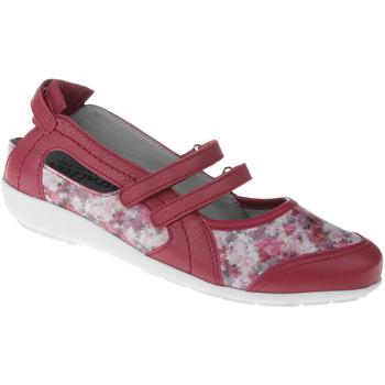 Schuhe Damen Ballerinas Natural Feet Ballerina Julie Farbe: rot rot
