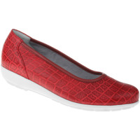 Schuhe Damen Ballerinas Natural Feet Ballerina Catharina Farbe: rot rot