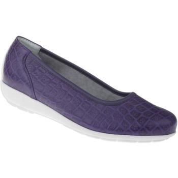 Schuhe Damen Ballerinas Natural Feet Ballerina Catharina Farbe: lila lila