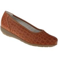 Schuhe Damen Ballerinas Natural Feet Ballerina Catharina Farbe: braun braun