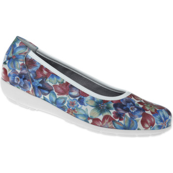Schuhe Damen Ballerinas Natural Feet Ballerina Carola Farbe: weiß weiß
