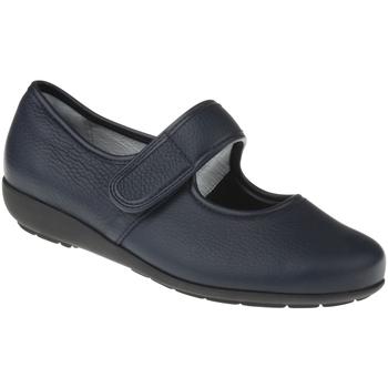 Schuhe Damen Ballerinas Natural Feet Ballerina Susanne Farbe: blau blau