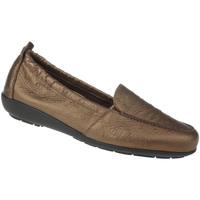 Schuhe Damen Slipper Natural Feet Mokassin Aurelia Farbe: braun braun