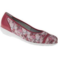 Schuhe Damen Ballerinas Natural Feet Ballerina Sanela Farbe: rot rot
