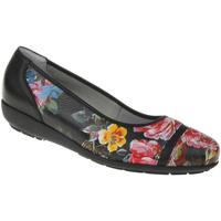 Schuhe Damen Ballerinas Natural Feet Ballerina Sanela Farbe: schwarz schwarz