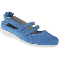 Schuhe Damen Ballerinas Natural Feet Ballerina Josi Farbe: blau blau