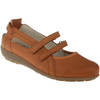 Schuhe Damen Ballerinas Natural Feet Ballerina Josi Farbe: braun braun