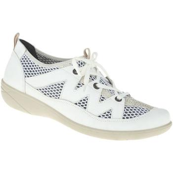 Schuhe Damen Derby-Schuhe Lei By Tessamino Schnürer Eva Farbe: weiß weiß