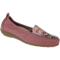 Schuhe Damen Slipper Natural Feet Mokassin Marina Farbe: rosa rosa