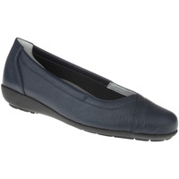 Schuhe Damen Ballerinas Natural Feet Ballerina Christina Farbe: dunkelblau dunkelblau