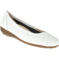 Schuhe Damen Ballerinas Natural Feet Ballerina Christina Farbe: weiß weiß