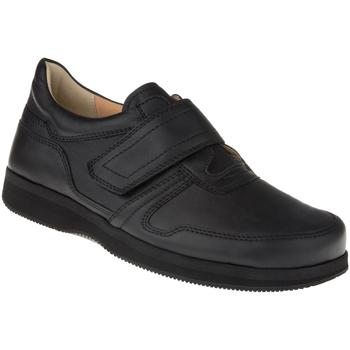 Schuhe Herren Derby-Schuhe Natural Feet Kletter Korbin XL Farbe: schwarz schwarz