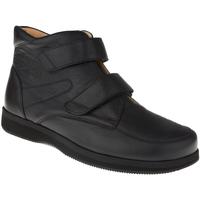 Schuhe Herren Boots Natural Feet Stiefel Trondheim XL Farbe: schwarz schwarz