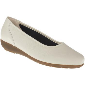 Schuhe Damen Ballerinas Natural Feet Ballerina Johanna Farbe: beige beige