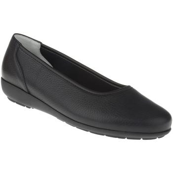 Schuhe Damen Ballerinas Natural Feet Ballerina Johanna Farbe: schwarz schwarz