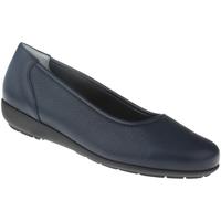 Schuhe Damen Ballerinas Natural Feet Ballerina Johanna Farbe: blau blau