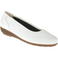 Schuhe Damen Ballerinas Natural Feet Ballerina Johanna Farbe: weiß weiß