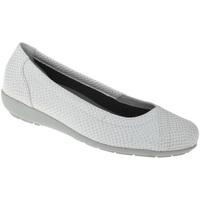 Schuhe Damen Ballerinas Natural Feet Ballerina Collien Farbe: weiß weiß