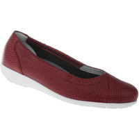 Schuhe Damen Ballerinas Natural Feet Ballerina Collien Farbe: rot rot