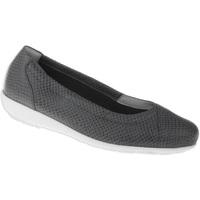 Schuhe Damen Ballerinas Natural Feet Ballerina Collien Farbe: grau grau