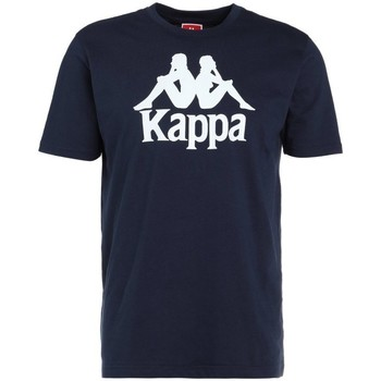 Kleidung Herren T-Shirts Kappa Caspar Tshirt Dunkelblau