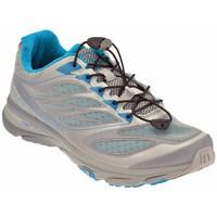 Schuhe Damen Laufschuhe Tecnica MotionFitrailWtrekking Silbern