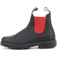 Schuhe Damen Boots Blundstone 508 Beatles Frau Schwarz / Rot Schwarz / Rot