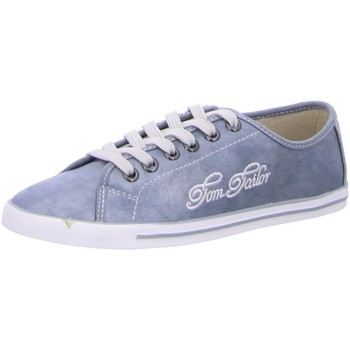Schuhe Damen Sneaker Low Tom Tailor 2793101,jeans 2793101 8 blau