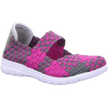 Schuhe Mädchen Derby-Schuhe & Richelieu Supremo Spangenschuhe Slp/Klett-Sp-Bod-Mäd 9664509 grau