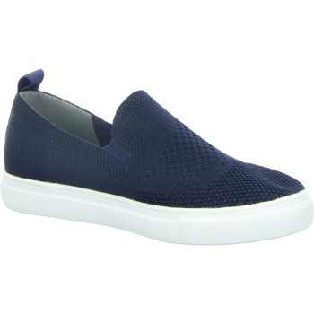 Schuhe Damen Slip on Diverse Slipper bis25mm-Sp.Bod.Abs 1009597 blau