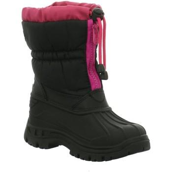Schuhe Mädchen Schneestiefel Montega Winterstiefel Allwetterstiefel-Mäd 1003734 schwarz