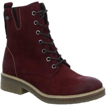 Schuhe Damen Low Boots Camel Active Stiefeletten Palm 77 Schnürboot 869.77.01 rot