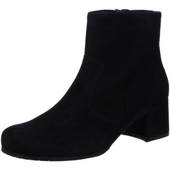 Schuhe Damen Ankle Boots Semler Stiefeletten SAMT-CHEVRO M44223042/001 schwarz