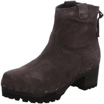 Schuhe Damen Boots Softclox Stiefeletten Inken S3354 grau