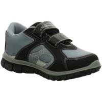 Schuhe Jungen Sneaker Low Diverse Klettschuhe 18010458-1 Spiderman 18010458-1 grau