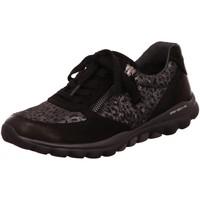 Schuhe Damen Sneaker Low Rollingsoft By Gabor Schnuerschuhe 36.968.67 schwarz