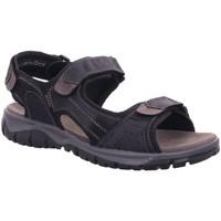 Schuhe Herren Sandalen / Sandaletten Diverse Offene -Sandalette,black/grey 1025303 schwarz