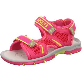 Schuhe Mädchen Sandalen / Sandaletten Supremo Schuhe 6962102 PINK/NEON YELLOW pink