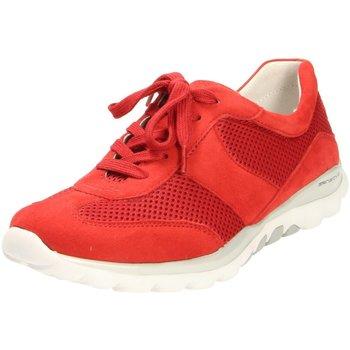 Schuhe Damen Sneaker Low Rollingsoft By Gabor Schnuerschuhe GABOR COMFORT 26.966.68 rot