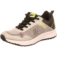 Schuhe Herren Sneaker Low Brütting Schnuerschuhe 111211 schwarz