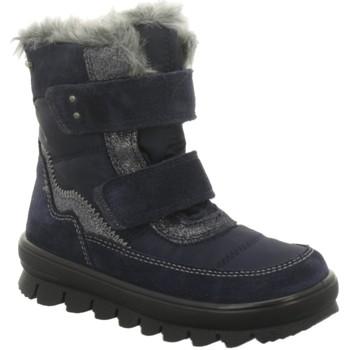 Schuhe Mädchen Schneestiefel Superfit Winterstiefel 5-09214-80 blau