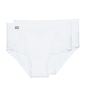 Unterwäsche Damen Damenslips PLAYTEX COTTON STRETCH Weiss