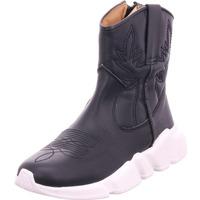 Schuhe Damen Stiefel Humat napa negro schwarz