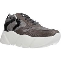 Schuhe Damen Sneaker Low Voile Blanche M0NSTER Grau